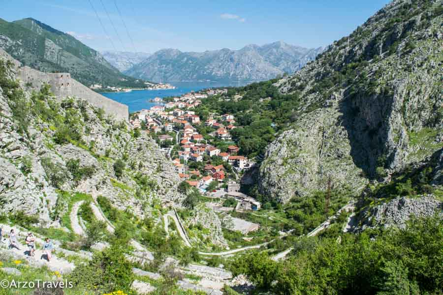 Hiking path, Ladder of Kotor_