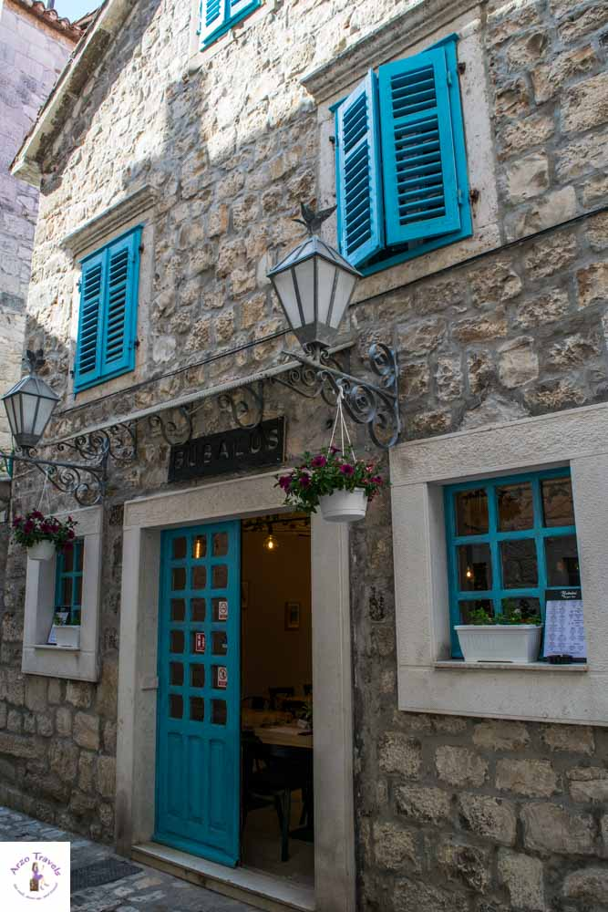 House in the old town of Trogir, one of the best places to visit