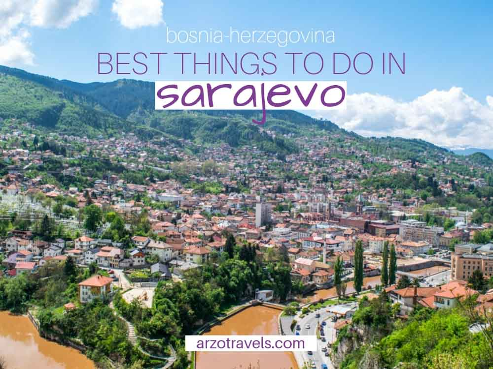How to spend one day in Sarajevo, Bosnia-Herzegovina, the best things to do and see - cover image