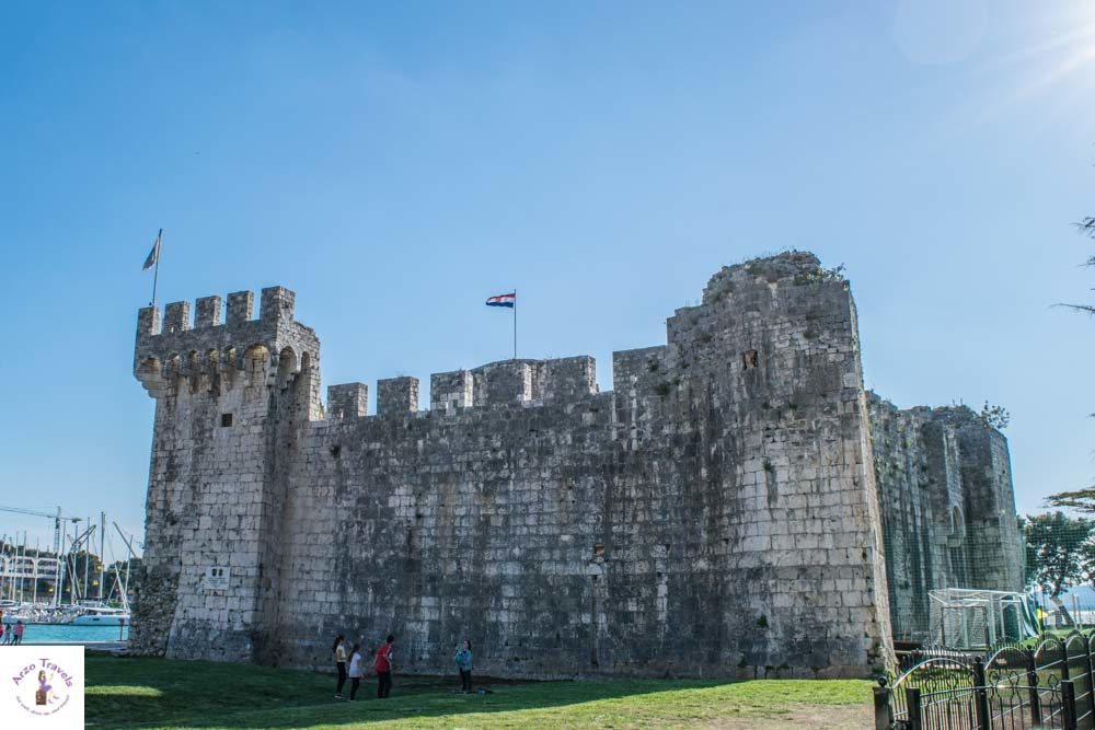 Kamerlengo Castle in Trogir is one of the best things to see