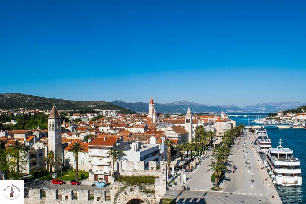 Kamerlengo Castle in Trogir offers one of the best views