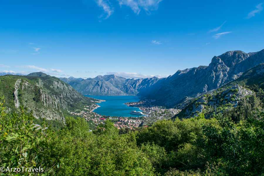 Kotor Bay, things to do is to drive around