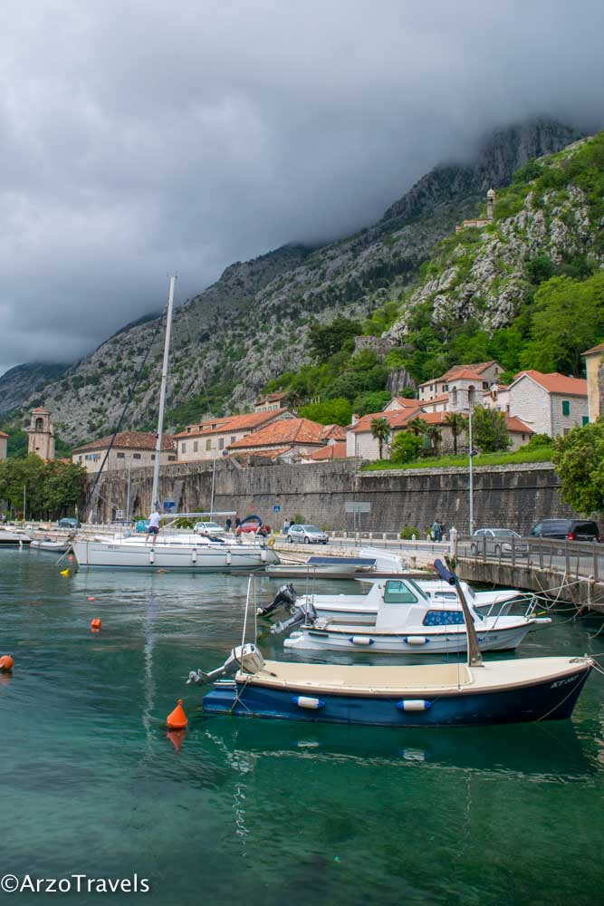 Kotor Port with Arzo Travels