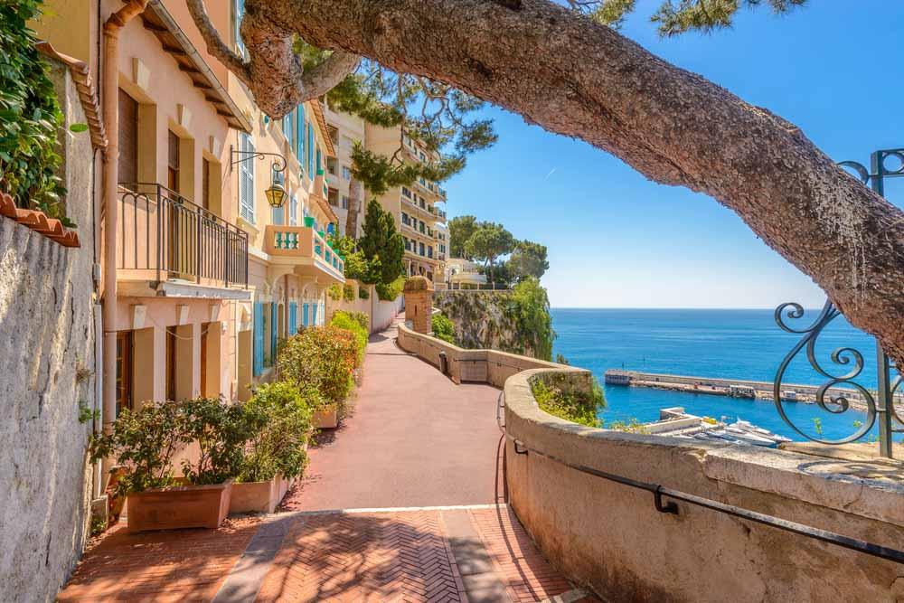Monaco Village in Monaco Monte Carlo, France a day trip from Nice
