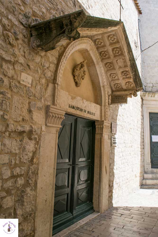 Pretty builings in Trogir, Croatia