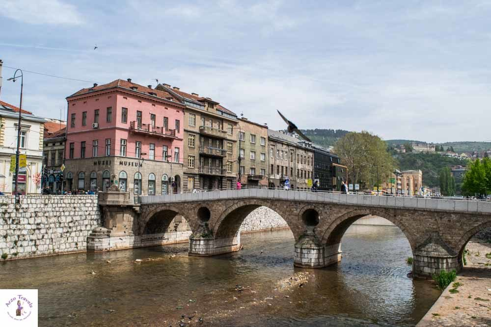 Sarajevo Latin Bridge is one of the best things to see