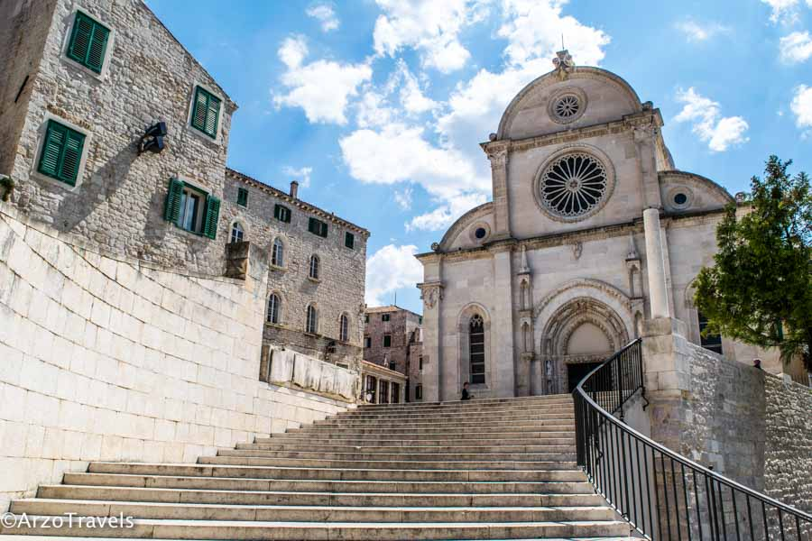 Sibenik is one of the most beautiful towns in Croatia
