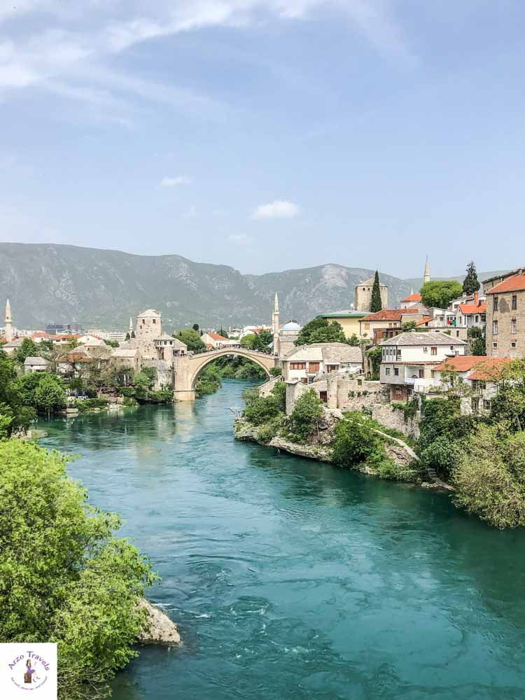 Stari Most in Mostar is one of the main attractions in Bosnia Herzegovina