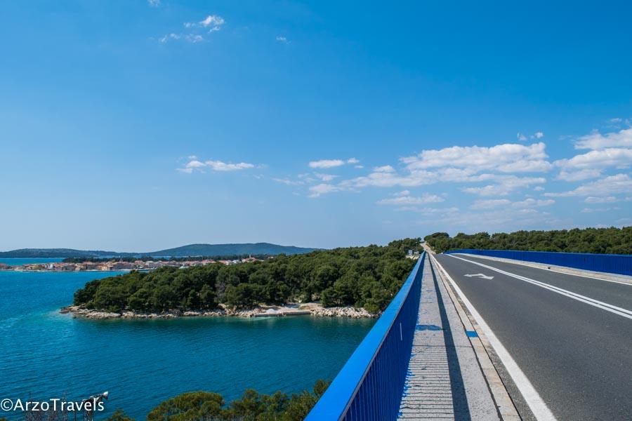 Street D8 in Croatia_