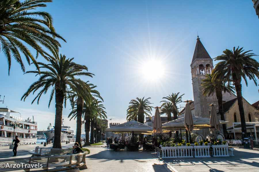 Trogir is a must-see in Croatia