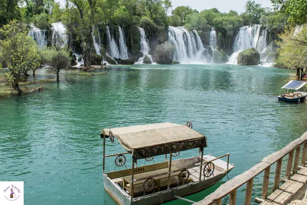Kravica Waterfalls in Bosnia