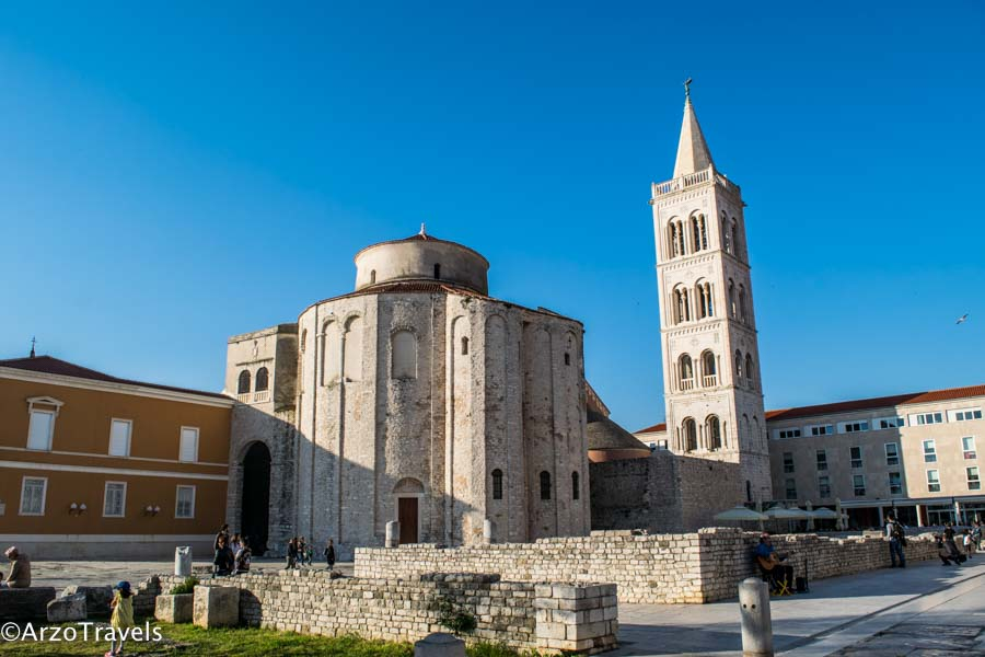 Zadar old town in Croatia in 7 days
