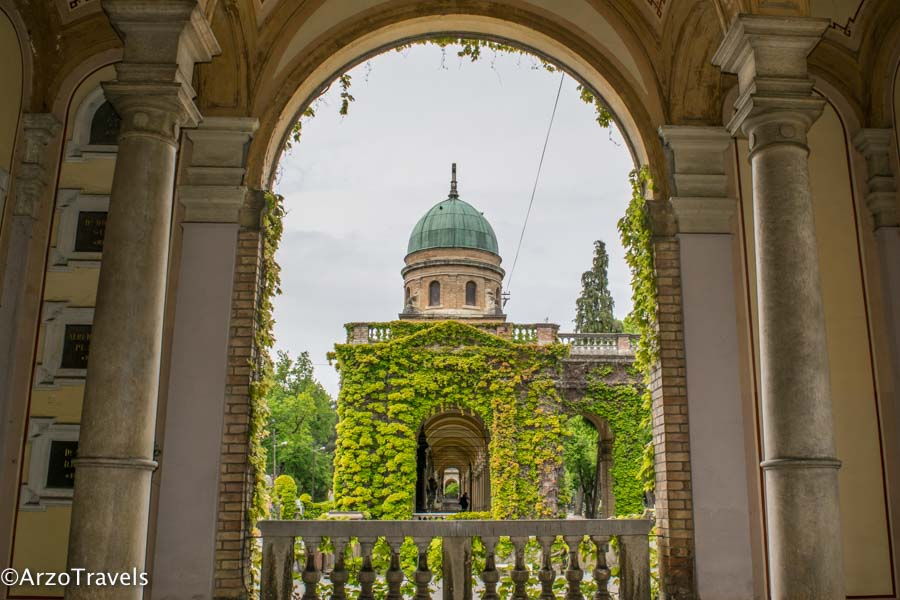 Zagreb Mirogoj Cemetary is a must-see