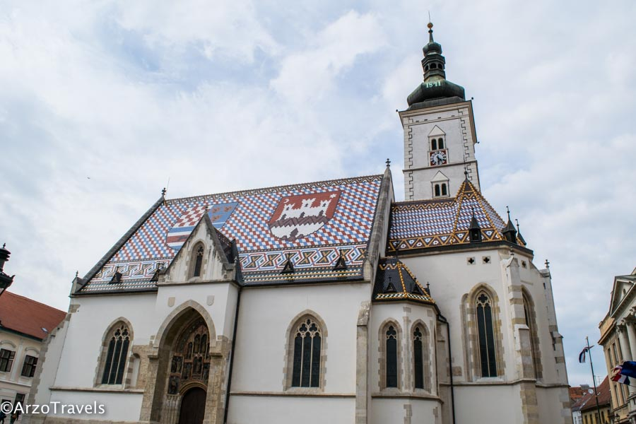 Zagreb church