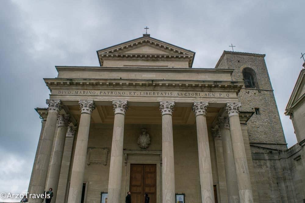 Basilica di San Marino is one of the main landmarks