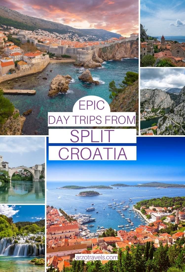 Best day trips from Split, Croatia, Arzo Travels
