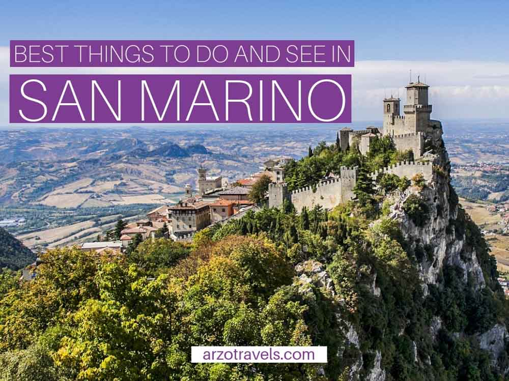 Best things to do and see in San Marino in 1 day