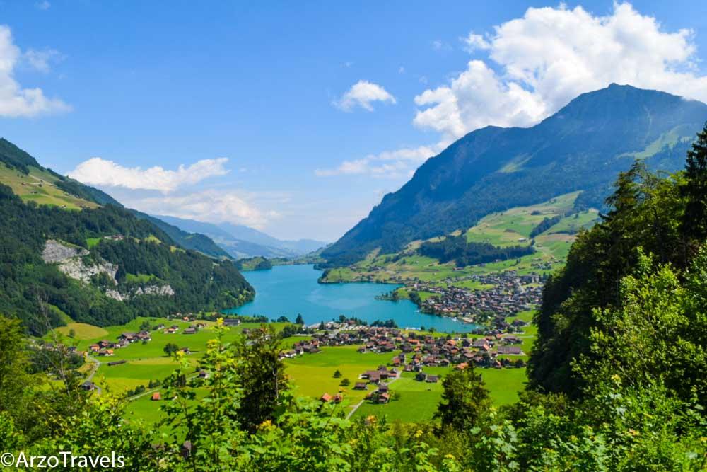 Brüning Pass, Lake Lungern Switzerland Arzo Travels