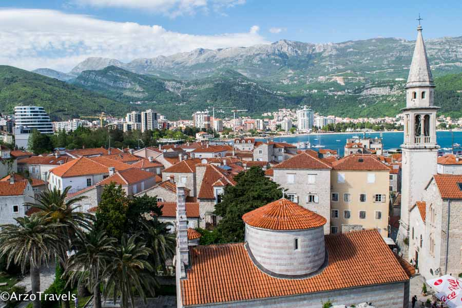 Budva old town - best places to visit in Montenegro in 10 days