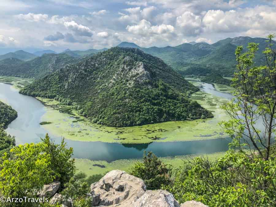 Lake Skadar in Montenegro is one fof the best places to see in Montenegro