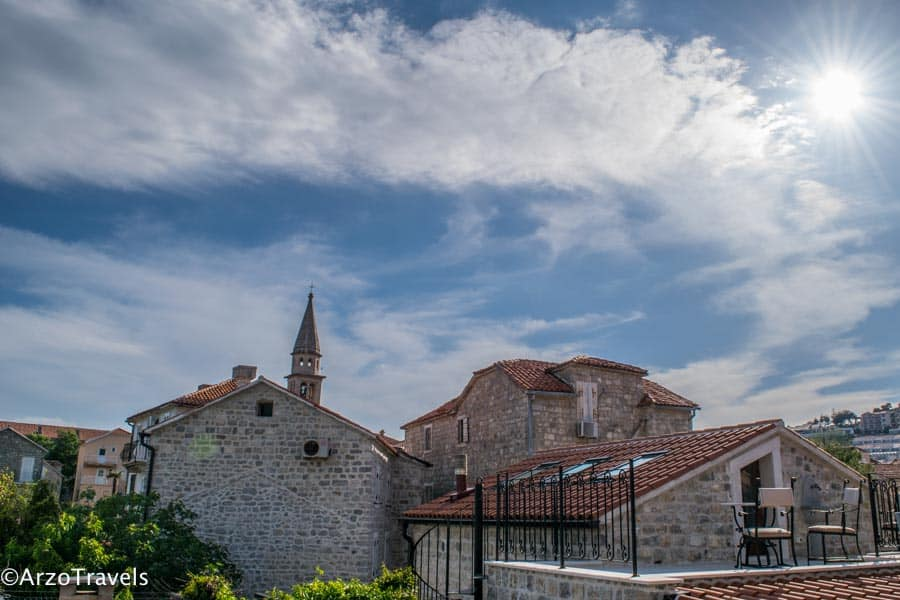 Budva, strolling is one of the top things to see