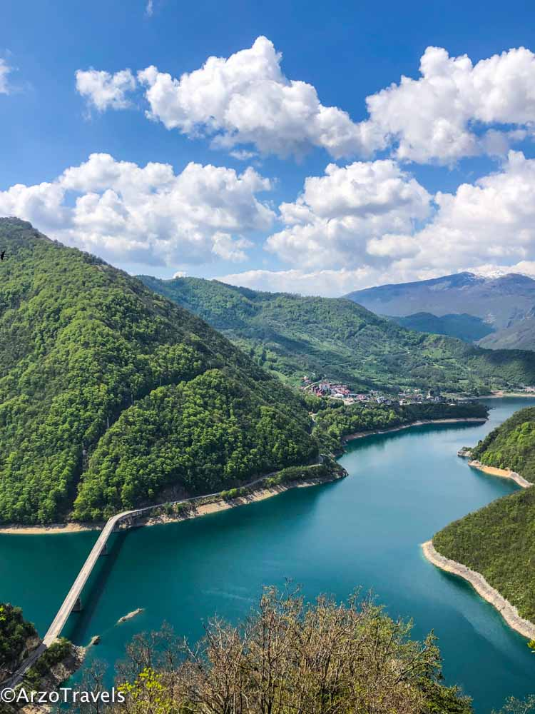 Piva Lake in Montenegro is the answer to the question where to go