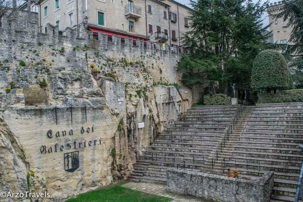 Place in San Marino, Cava dei Balestrieri