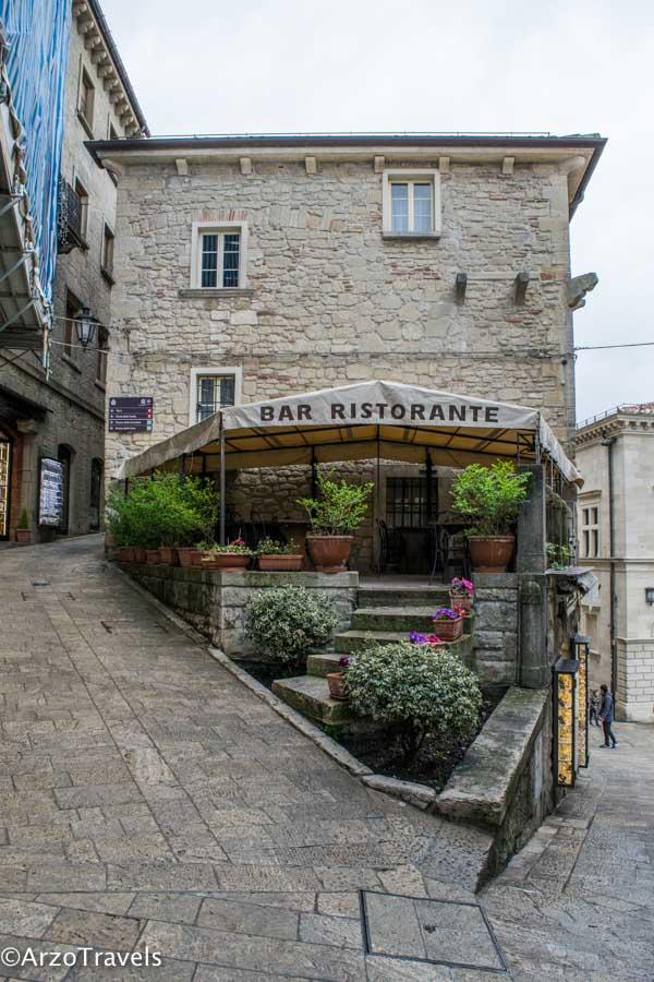 Restaurant in San Marino
