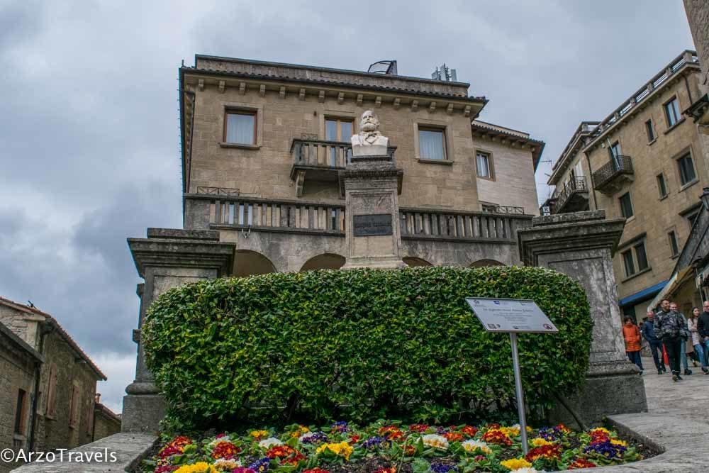 Square in San Marino