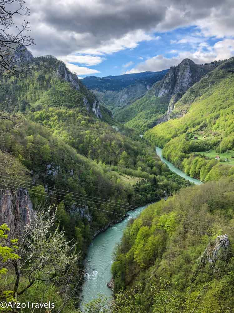 Tara Canyon is one the most famous places in Montenegro