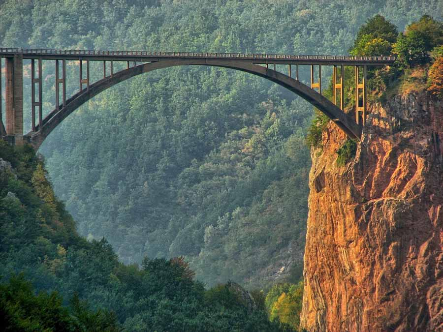 Tara Trift Bridge in Montenegro is one of the best things to do