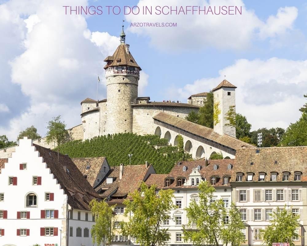 Things to do in Schaffhausen, Switzerland Arzo Travels