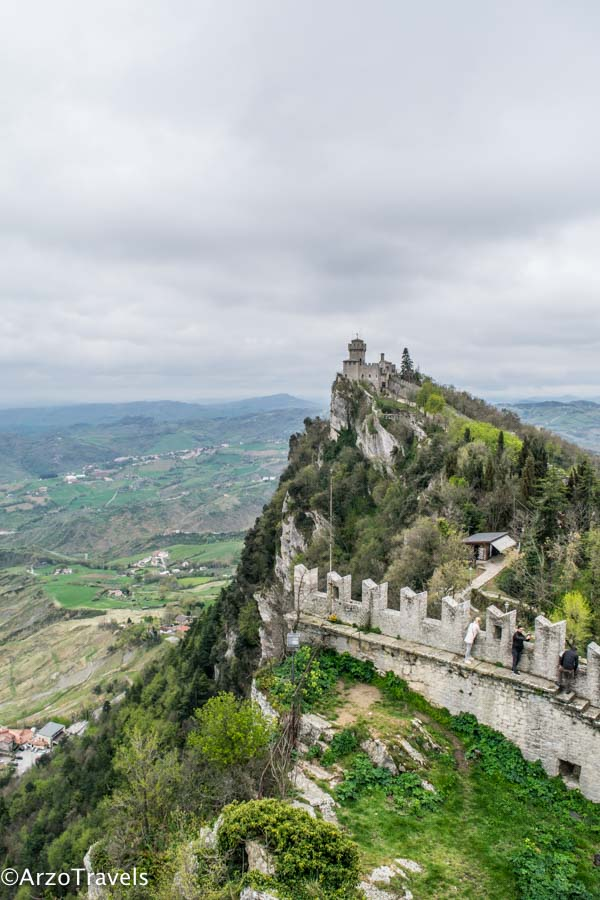 View of the second tower in San Marino