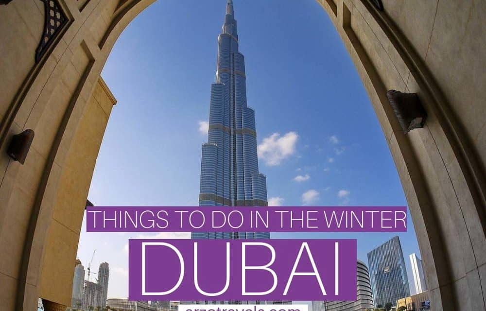 Winter in Dubai