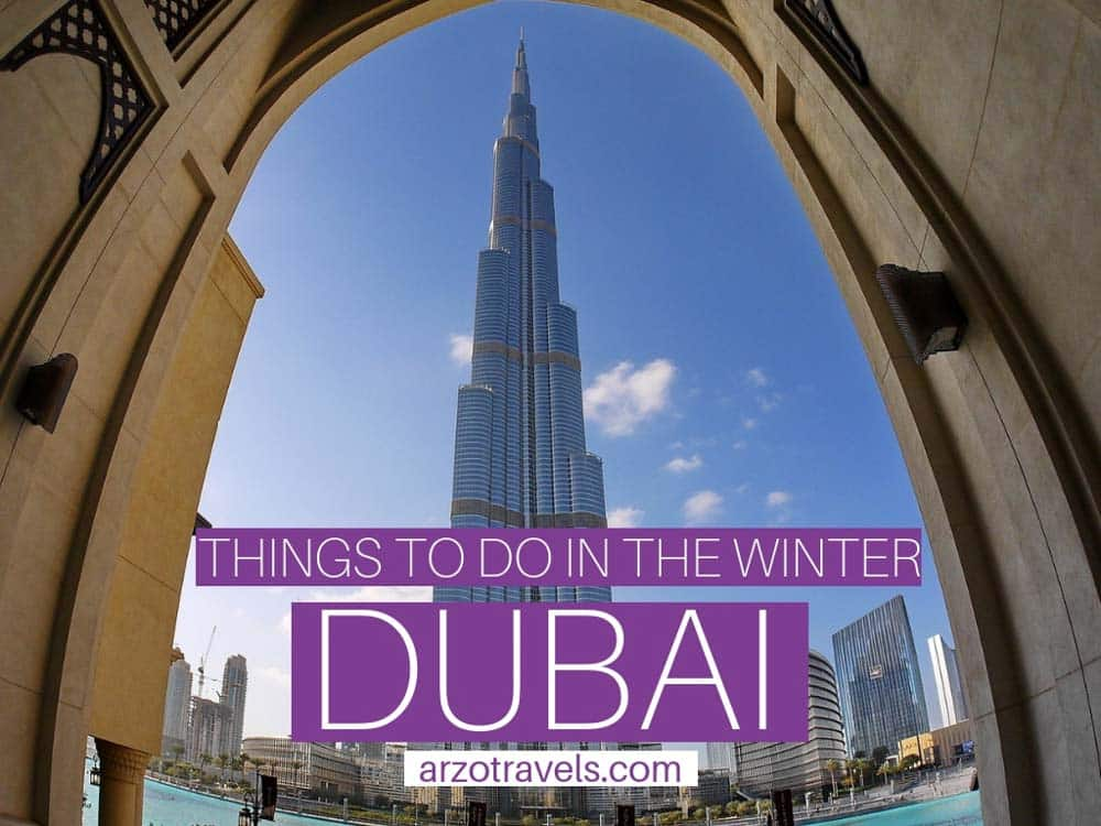 Winter in Dubai, best things to do and see