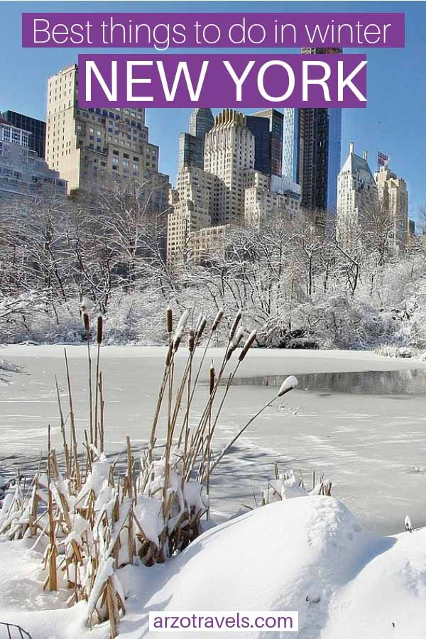 Winter in New York, best things to do in winter