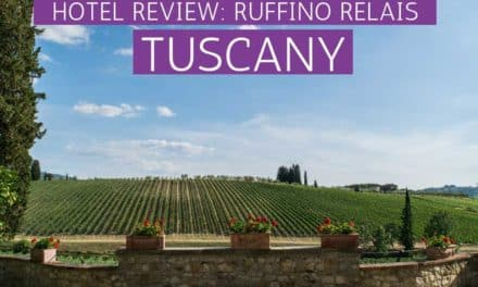 Ruffino Relais: Staying in Between the Vineyards in Tuscany, Italy