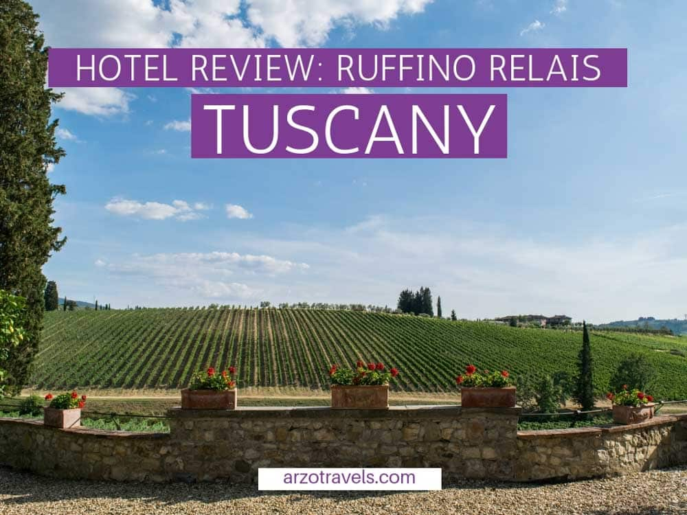Hotel review- Relais Ruffino in Tuscany estate with Arzo Travels