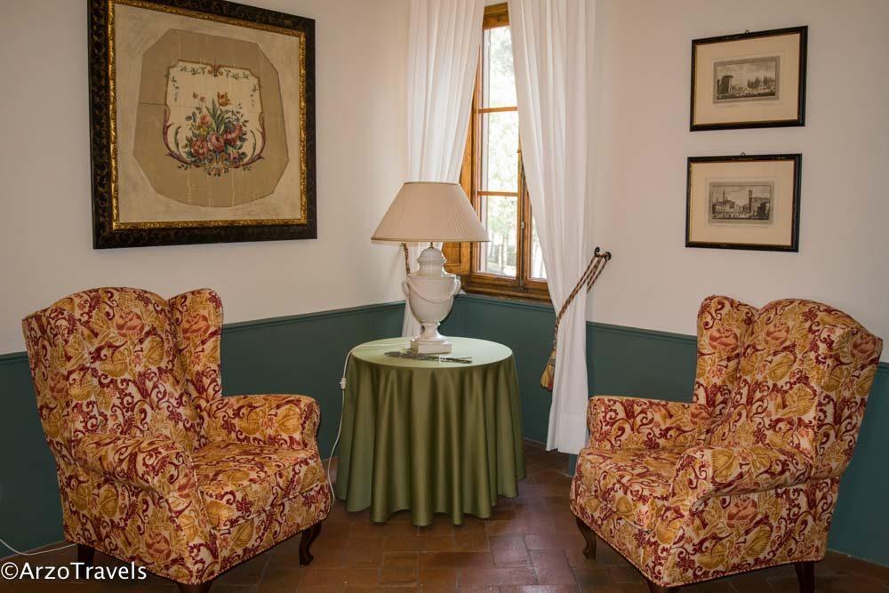 Interior Ruffino Relais Tuscany estate