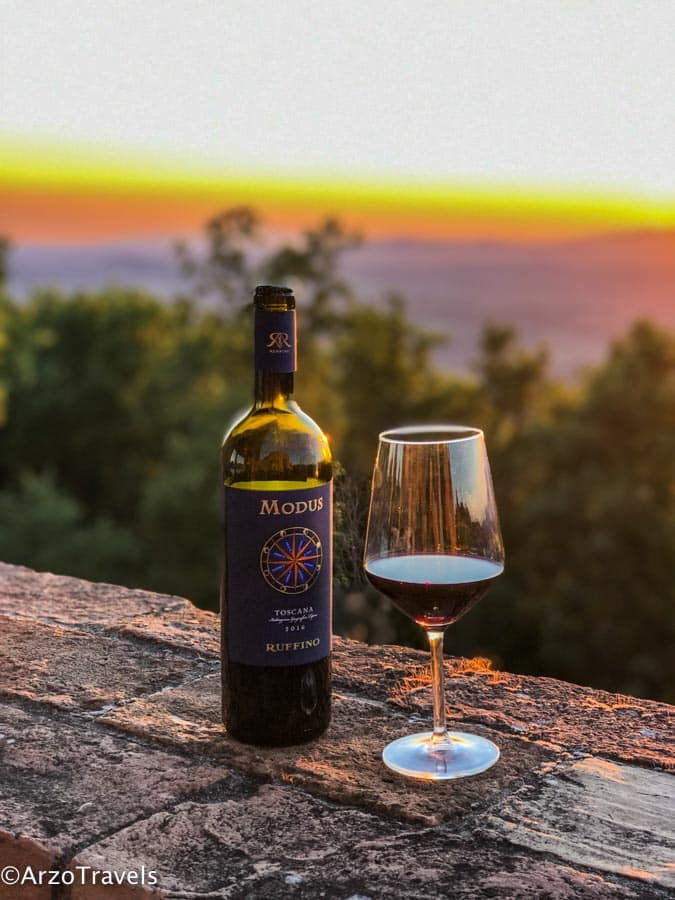 Wine Tasting at Ruffinio Relais in Tuscany estate with Arzo Travels