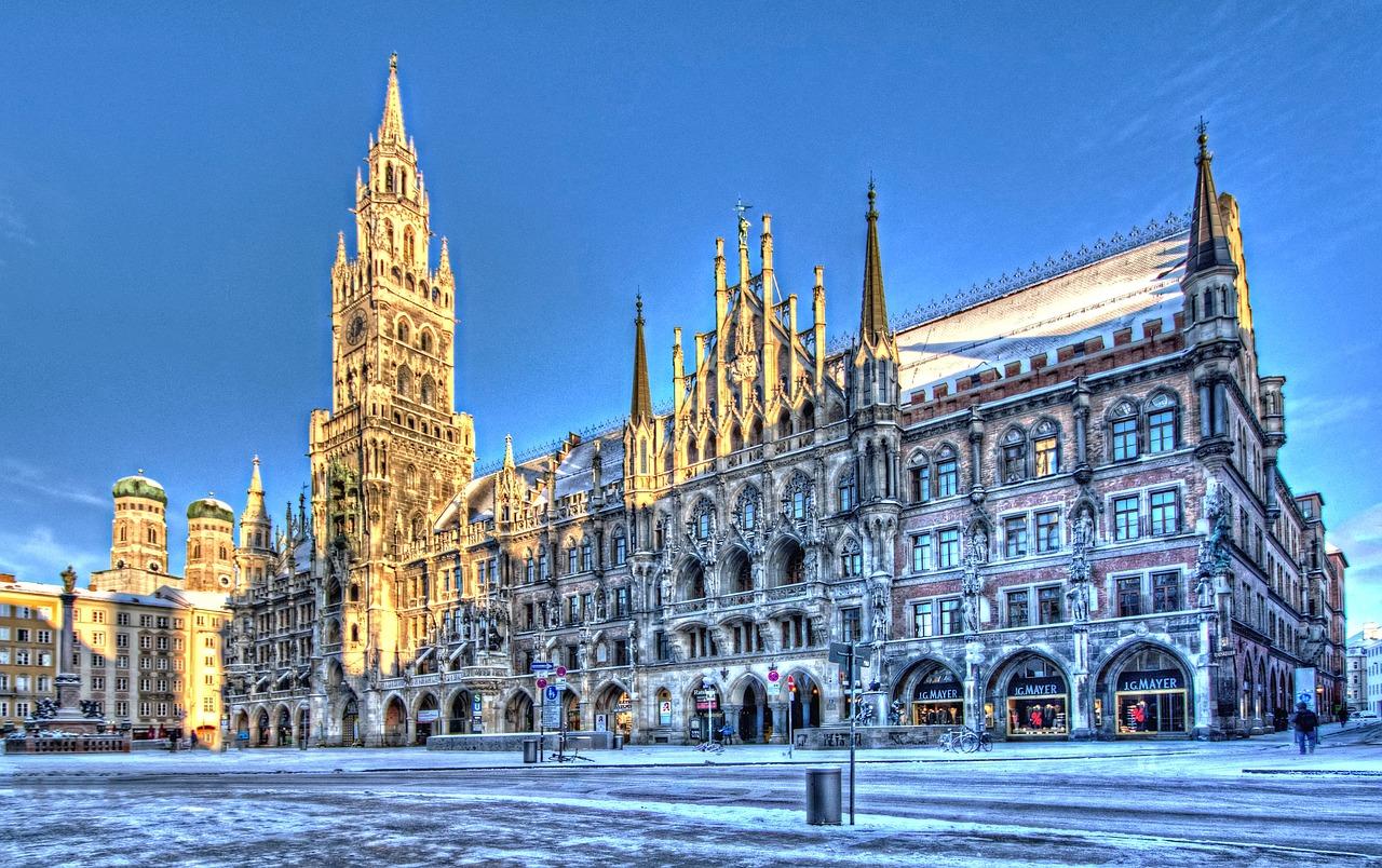Winter in Munich, Germany