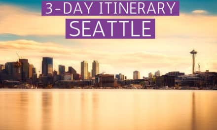 3-DAY SEATTLE ITINERARY