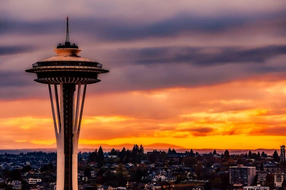 The Needle in Seattle, Washington