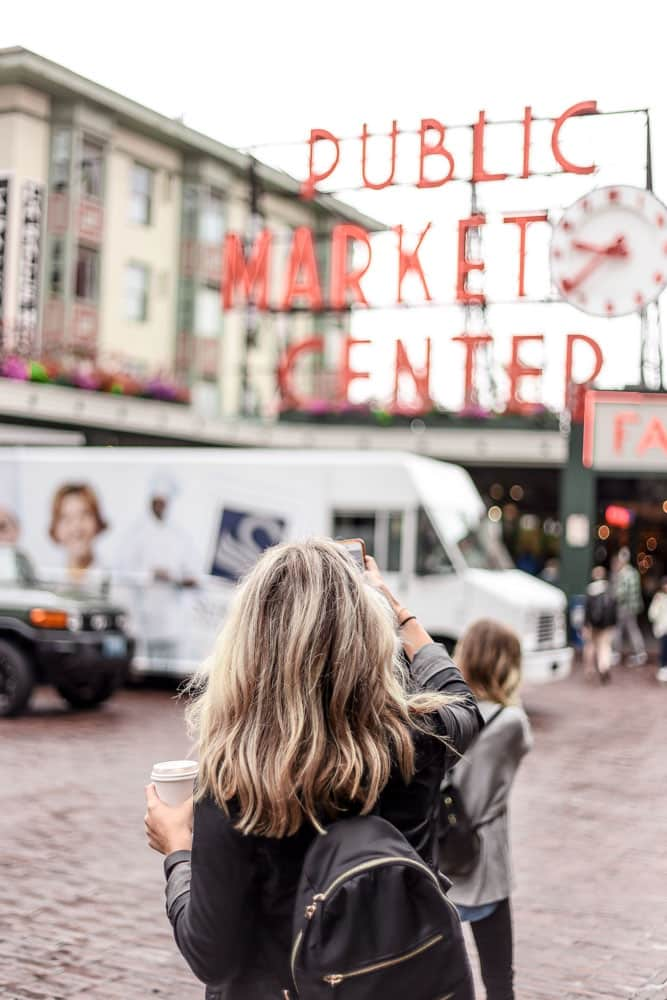Visiting Public Market Center is one of the best thngs to do in 3 days in Seattle-clarisse-meyer unsplash