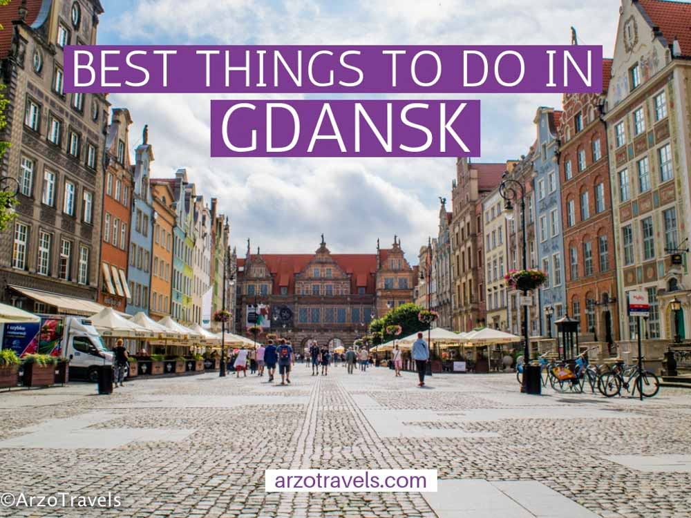 Best things to do in Gdansk, Poland in one or two days