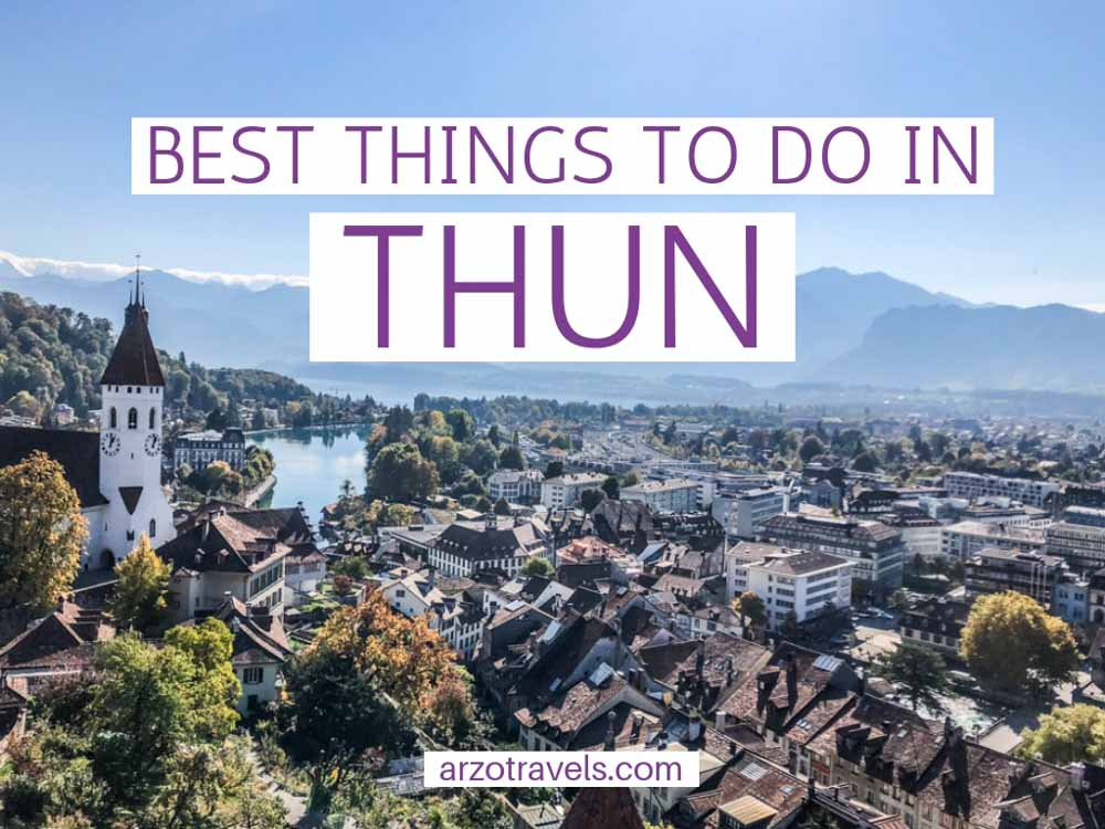 Cover: Best things to do in Thun Switzerland, top activities