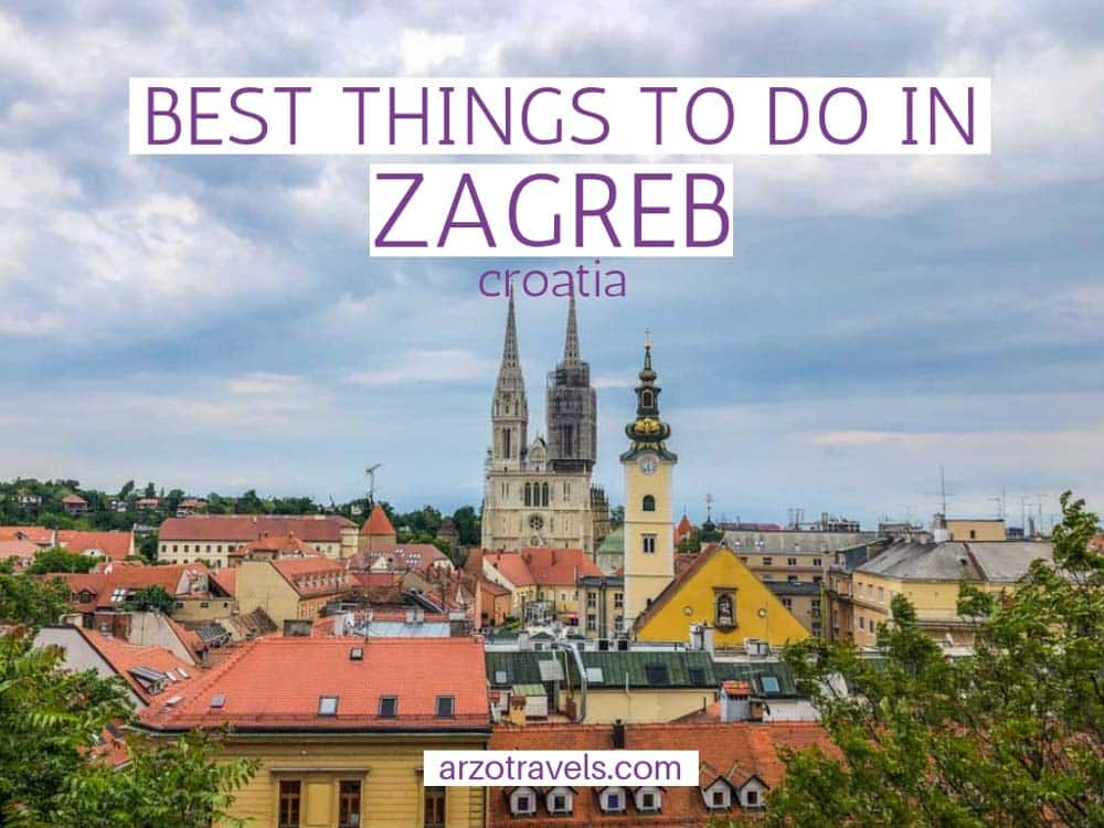Best things to do in Zagreb, Croatia in 2 days. An itinerary - cover