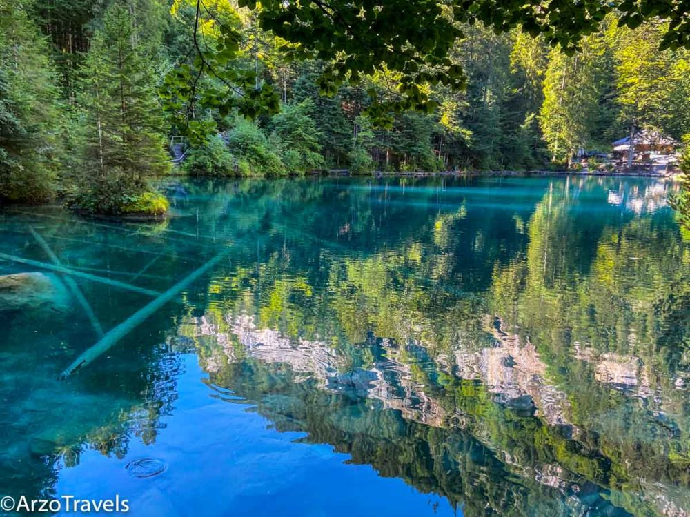 Blausee in Berner Oberland, Arzo Travels