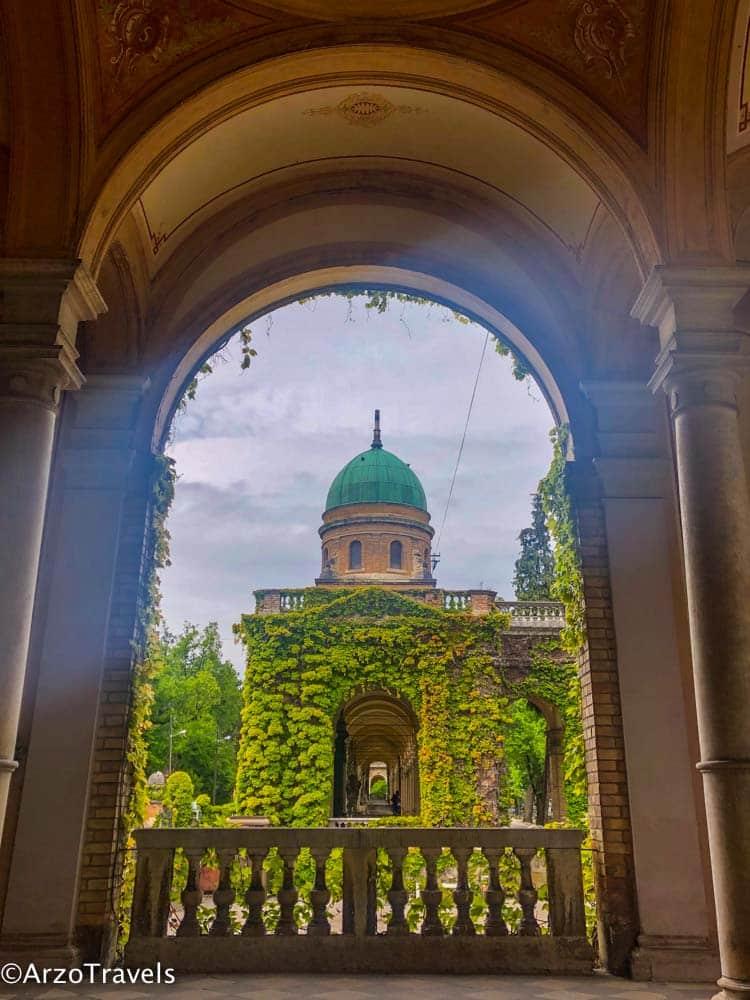 Cemetery in Zagreb, Croatia