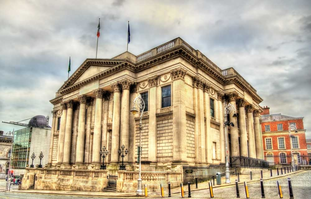 City Hall of Dublin - Ireland a must on a 3-day itinerary